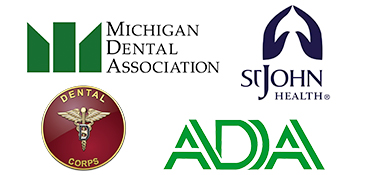 Dental associations of Jeffery Jaskolski DDS.
